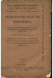 Szabadalmi jogunk refomja - Régikönyvek