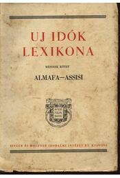 Uj idők lexikona II. kötet - Régikönyvek