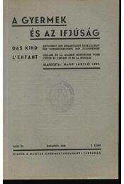 A gyermek és az ifjúság 1939. 2. szám - Régikönyvek