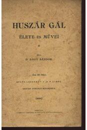 Huszár Gál élete és művei - Régikönyvek
