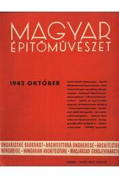Magyar Építőművészet 1942. október - Régikönyvek
