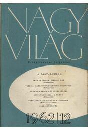 Nagyvilág 1962. év I-XII. szám - Régikönyvek