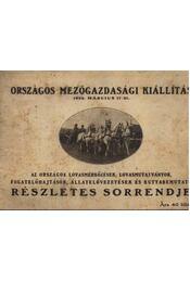 Országos mezőgazdasági kiállítás 1932 - Régikönyvek