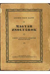 Magyar zsoltárok - Régikönyvek