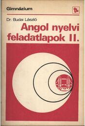 Angol nyelvi feladatlapok II. - Régikönyvek