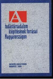 A tudástársadalom kiépítésének forrásai Magyarországon - Régikönyvek