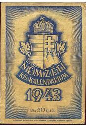 Nemzeti kis kalendárium 1943 - Régikönyvek