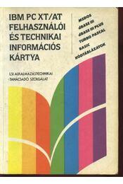 IBM PC XT/AT felhasználói és technikai információs kártya - Régikönyvek