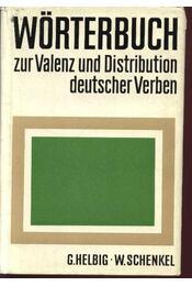 Wörterbuch zur Valenz und Distribution deutscher Verben - Régikönyvek