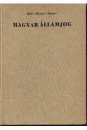 Magyar államjog - Régikönyvek