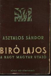 Biró Lajos a nagy utazó - Régikönyvek