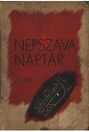 Népszava Naptár - Régikönyvek