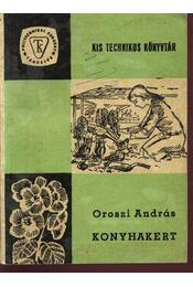Konyhakert - Régikönyvek