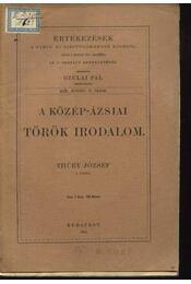 A közép-ázsiai török irodalom - Régikönyvek