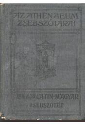 Latin-magyar zsebszótár a középiskolák számára - Régikönyvek