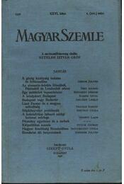 Magyar Szemle 1936. XXVI. kötet I. (101.) szám - Régikönyvek