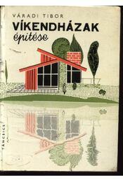 Víkendházak építése - Régikönyvek