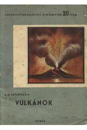 Vulkánok - Régikönyvek