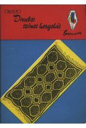 Divatos színes horgolás - Régikönyvek