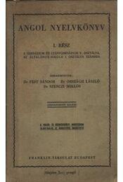 Angol nyelvkönyv I. rész - Régikönyvek