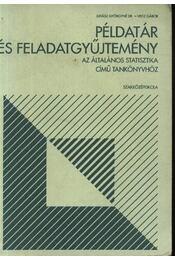 Példatár és feladatgyűjtemény az általános statisztika című könyvhöz - Régikönyvek