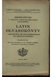 Latin Olvasókönyv. Gimnáziumok és leánygiumnáziumok VIII. osztálya számára - Régikönyvek