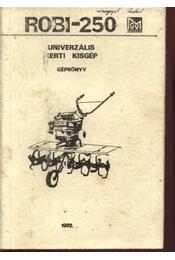 Robi-250 - Régikönyvek
