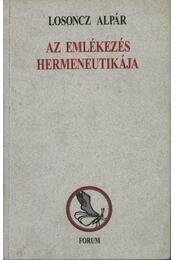 atirni - Az emlékezés hermeneutikája - Régikönyvek