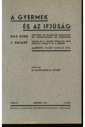 A gyermek és az ifjúság 1941. 2. szám - Régikönyvek