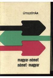 Magyar-német, német-magyar útiszótár (1984) - Régikönyvek