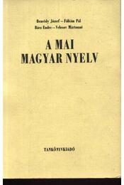 A mai magyar nyelv - Régikönyvek