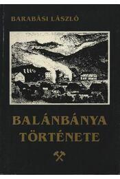 atirni - Balánbánya története - Régikönyvek