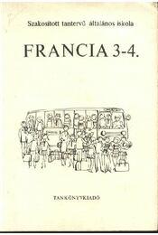 Francia 3-4. - Régikönyvek