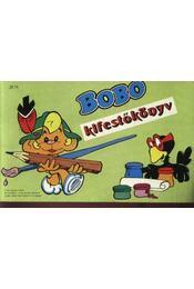 Góliát kifestőkönyv - Bobo kifestőkönyv - Régikönyvek
