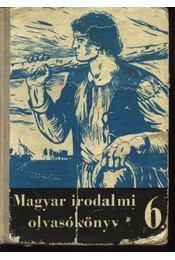 Magyar irodalmi olvasókönyv az általános iskolák 6. osztálya számára - Régikönyvek