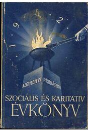 Szociális és karitativ évkönyv 1942 - Régikönyvek