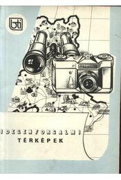 Idegenforgalmi térképek - Régikönyvek