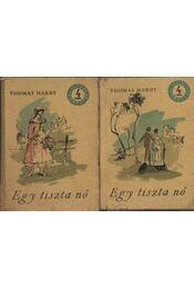 Egy tiszta nő I-II. kötet - Régikönyvek