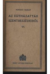 Az egyházatyák szentbeszédeiből VI. - Régikönyvek
