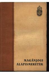 Magánjogi alapismeretek - Régikönyvek
