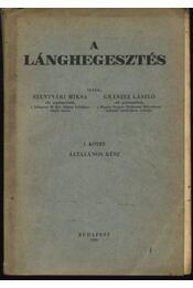 A lánghegesztés I. - Régikönyvek