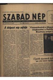 Szabad Nép 1956. február - Régikönyvek
