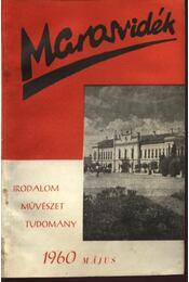 Marosvidék 1960 május - Régikönyvek