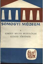 A somogy megyei muzeológiai kutatás története - Régikönyvek