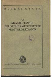 Az abszolutizmus földtehermentesítése Magyarországon - Régikönyvek