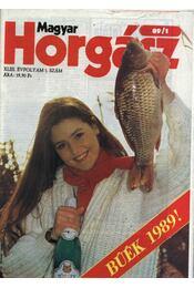 Magyar Horgász 1989. január-december - Régikönyvek