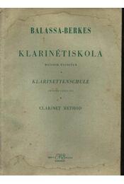 Klarinétiskola - Régikönyvek