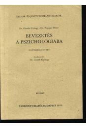 Bevezetés a pszichológiába - Régikönyvek