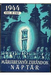 Máriabesnyői zarándok naptár 1944 - Régikönyvek
