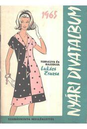 Nyári divatalbum 1965 - Régikönyvek